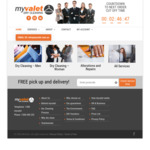 [NSW] $20 off, No Min Order - Myvalet Online Dry Cleaners [Sydney Only - Postcode Areas Listed]