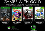 Xbox Games with Gold March 2020 - Batman: The Enemy within, Shantae: Half-Genie Hero, Castlevania: Lords of Shadow 2 & Sonic Gen