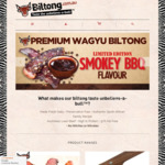 Biltong.com.au (Air-Dried Jerky): Free Express Shipping (Worth $9) on Orders over $55