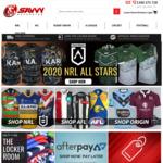 20% off 2020 NRL & AFL Gear @ Savvy Supporter