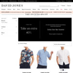 Tommy Hilfiger: Blazer $150/ $180 (Was $499/ $599) | Shirts from $36 + More @ David Jones