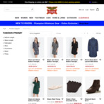 Fashion Frenzy: Styles from $9 (Free Shipping over $80 Spend) @ Rivers