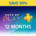12 Month PlayStation Plus Subscription $55.97 (Was $79.95) @ PlayStation Store
