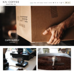15% off: 1kg/500g $34/$21.25 Any Blends or Single Origins Delivered @ Kai Coffee