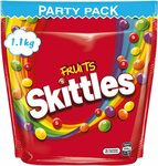 Skittles Fruits Bulk 1.1Kg $9 ($8.10 S&S)(OOS) M&M's Large Bags $4 ($3.60 S&S) + Delivery ($0 with Prime/ $39 Spend) @ Amazon AU