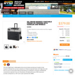 62L Brass Monkey Camping Fridge/Freezer $379 (Save $120) @ Road Tech Marine