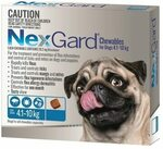 Nexgard Tick & Flea Monthly Chew, Dogs 4-10kg 6 Pack $37.95 (Shipping $6.95, Free When Order > $99) @ Pet Chemist
