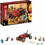 LEGO NINJAGO Katana 4x4 70675 Building Kit $39.30 Delivered @ Amazon AU