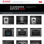 [VIC, NSW, Ex Display] ASKO OCS8487S Steam Oven $1799, W2084C Washing Machine $1019, D5456S Dishwasher $949 + More @ Asko