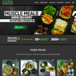 $30 off $100 Minimum Spend on Precooked Meals @ Core Powerfoods