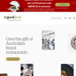 20% off $100+ Spend on Good Food Restaurant Gift Cards