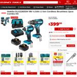 Makita DLX2283SM 18V 4.0ah Li-Ion Cordless Brushless 2pce Combo Kit - $399 @ Sydney Tools