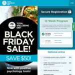 $50 off Total Well Bring Diet by CSIRO ($149). Get The Program Free if You Stick with It @ Digital Wellness
