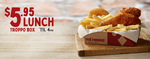 Troppo Lunch ~$5.95 until 4pm @ Red Rooster