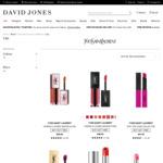Yves Saint Laurent Lipsticks Buy 1 Get 1 Free + Shipping/Free with $50 Orders @ David Jones/Myer