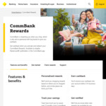 Commbank Rewards: Spend $100/$200 Receive $5/$10/$20 Cashback @ Coles