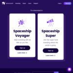 Double ($10) Referral on Spaceship Voyager (Minimum $5 Deposit) for February 2021