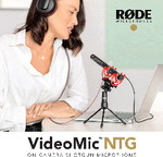 Rode VideoMic NTG $287.20 (Was $359) Delivered @ digiDIRECT