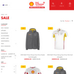 50% off Selected Items, Free Can Cooler with $50 Spend & Free Shipping over $80 @ Shell V Power Racing Team Store
