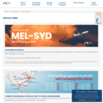 Rex: 100,000 Tickets at $79 for Flights between Melbourne and Sydney @ Rex.com.au