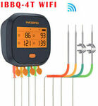 Inkbird IBBQ-4T Wi-Fi Meat/Grill Rechargeable Thermometer $93.13 (eBay Plus $89.40) Delivered @ Inkbird eBay