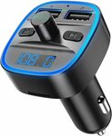 Bluetooth FM Transmitter for Car $15.99 + Delivery ($0 with Prime/ $39 Spend) @ AMIR&ORIA Direct via Amazon AU