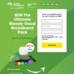 Win 12 Months NBN, Fetch, Netflix, Stan and a Google Nest from Aussie Broadband