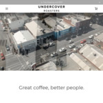 40% off Storewide (Excl. Gift Cards / Coffee Machines): 1kg UCR BLK - Our Signature Blend $28.20 (RRP $47) @ Undercover Roasters