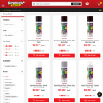 Export Spray Paints 250g $2.50 Each, LED Driving Lights Further Clearance (Limited Stock) C&C/ in-Store Only @ Supercheap Auto