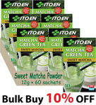 10% Off: Matcha Green Tea/Sweet Matcha Powder 6×10 Packets (12g each), $43.2 + $8.25 Delivery ($0 with $50 Spend) @ Ito En