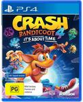 [PS4, XB1] Crash Bandicoot 4: It's About Time $39 + Delivery ($0 C&C/ in-Store) @ JB Hi-Fi / [XB1] $39 Delivered @ Amazon AU