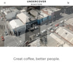 50% off 1kg Signature BLK Whole Beans $31 Delivered, 50% off Apparel, Coffee Gear, Chocs, Chais & Syrups @ Undercover Roasters