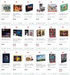 Puzzles $9 C&C/+Delivery (e.g. Disney Beauty & The Beast 1000 pcs, Harry Potter Knight Bus 3D 280 pcs & more) @ EB Games & Zing