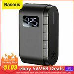 Baseus Portable Digital Display Battery Powered Pump 45W - $52.19 / ($51.03 eBay Plus) Delivered @ baseus_official_au Store eBay