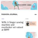 Win a Singer Sewing Machine & Overlocker Set Worth $899 from Fashion Journal
