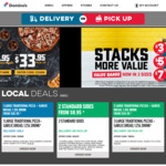 4 Traditional Pizzas + 4 Sides $38.95 (Pick up), $44.95 (Delivered) @ Domino's