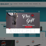 Up to 40% off Torches: Open Pro Blue $76.97, Drever $74.96, Free X9R Cell & $5 Voucher, Free Shipping with $75 Order @ Olight AU