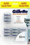 Gillette SkinGuard Blades Refill 12 Pack $33.49, Handle + 5 Blades $13.95 + Delivery ($0 with $50 Spend/ C&C) @ Shaver Shop