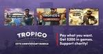 [PC,Steam,Mac,Linux] Humble Bundle - Tropico 20th Anniversary Bundle ($1.36/ $16.41/ $16.42) Encompassing Tropico 3 - 6