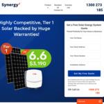 [NSW] 6.6kW Solar System (JA Panels & SAJ Inverter) $2699 Installed (Was $3190) @ Synergy Solar