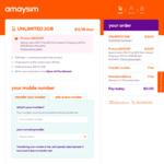 amaysim 2GB/28 Days Prepaid Mobile Starter Pack $0 Delivered @ amaysim
