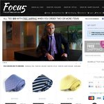 $30 for 2 Silk Ties with Free Shipping from FocusTies.com.au ($30 off / 50% off)