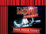 Bacardi Million Dollar Movie Giveaway - Buy a bottle of Bacardi and receive a free movie ticket