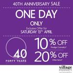 One Day Sale: 10% off Prestige Cosmetics (Inc. Chanel) & 20% Other Items! Village Pharmacy (SA)