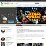 [Google Play] [iTunes] Star Wars Pinball $0.99 (1/2 Price)