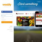 $10 off Weebly Website Builder