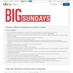 eBay Free Shipping Frenzy 10-16 August (TGG, DSE, HN, COTD, SCA)