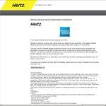 Free Hertz Gold Plus Rewards Five Star Status (AMEX Premium Black Cardholders Only)