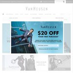 30% off Site Wide @VanHeusen.com.au