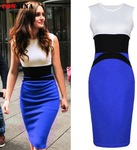 40% off on Women Plus Size Pencil Office Dress S - XXL Size $14.33 + Free Shipping @ AliExpress
